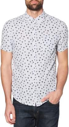 Original Penguin Palm Tree Print Woven Shirt