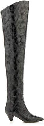Patent Croc Boot