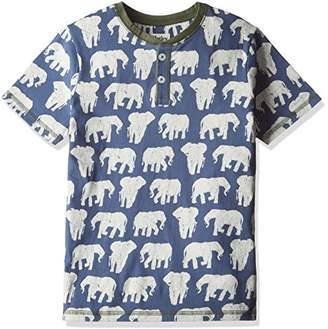 Hatley (ハットレイ ボーイズ Tシャツ TS5ELPH429 ブルー 6Y(119cm) 日本120cm