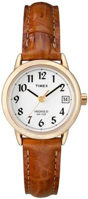 Timex Women's Easy Reader Leather Watch - T2J761KZ