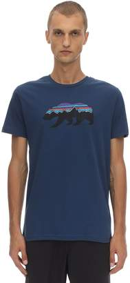 Patagonia Fitz Roy Bear Printed Cotton T-shirt