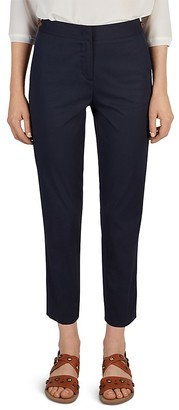 Gerard Darel Pao Stretch Cotton Trousers $260 thestylecure.com