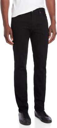 Levi's Black Rinse 511 Slim Fit Jeans