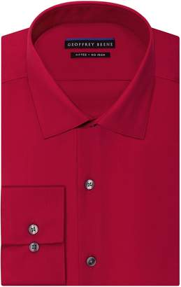 Geoffrey Beene Men's Fitted Sateen