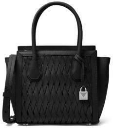 MICHAEL Michael Kors Weave Leather Top Handle Bag