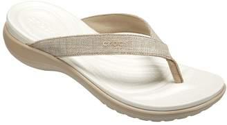 Crocs Thong Sandals - Capri V Shimmer Flip