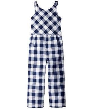 Habitual Janice Plaid Jumpsuit (Toddler/Little Kids)