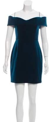 Nicholas Velvet Off-The-Shoulder Dress w/ Tags