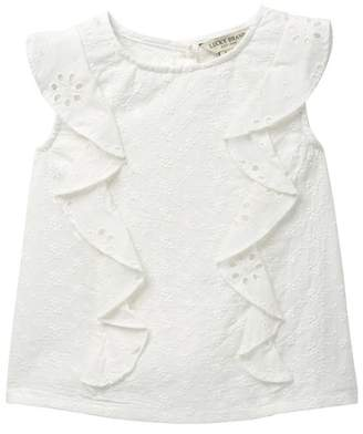 Lucky Brand Portia Eyelet Top (Little Girls)