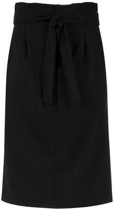 Tufi Duek belted midi skirt