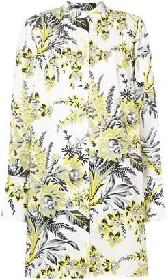 Diane von Furstenberg floral print shirt dress