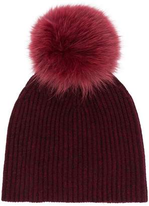 Yves Salomon Accessories ribbed knit beanie