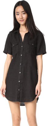 James Perse Utility Shirt Dress $225 thestylecure.com