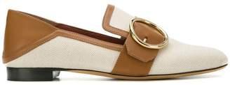 Bally Lottie buckle detail loafers