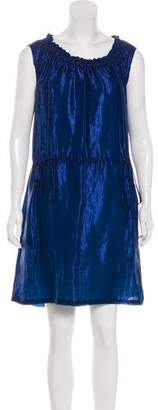 Fendi Gathered Iridescent Dress w/ Tags