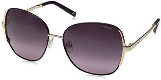 Polaroid Sunglasses Women's Pld4001s Polarized Round Sunglasses