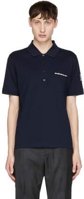 Moncler Gamme Bleu Navy Pocket Polo