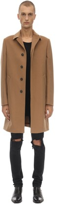 Bottega Martinese Virgin Wool & Cashmere Coat