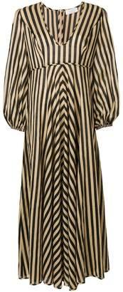 Zimmermann longsleeved striped dress