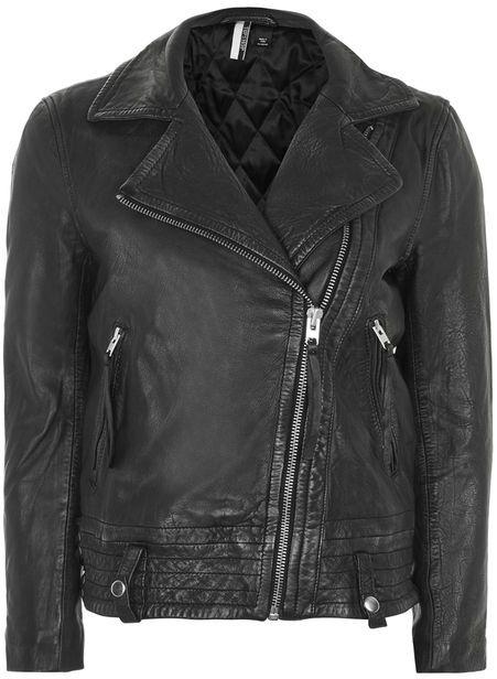 TopshopTopshop Leather biker jacket
