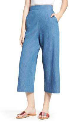 BP Tacoma High Waist Wide Leg Denim Pants