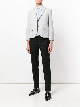 Thom Browne Striped short blazer