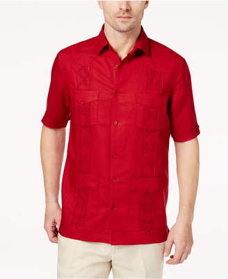 Tasso Elba Men's Guayabera Shirt, Created for Macy's