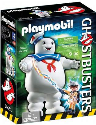 Playmobil Uk Boys Ghostbusters Stay Puft Marshmallow Man
