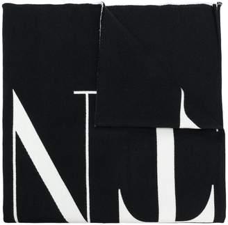 Valentino VLTN logo scarf