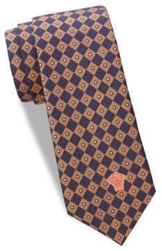 Versace Geometric Silk Tie