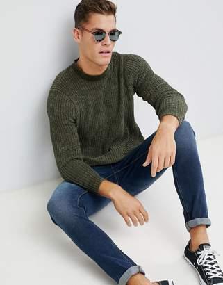 Brave Soul Chenille Turtleneck Sweater