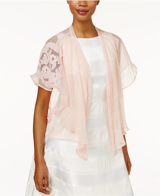 Inc International Concepts Lace-Sleeve Kimono, Created for Macy's $48.50 thestylecure.com