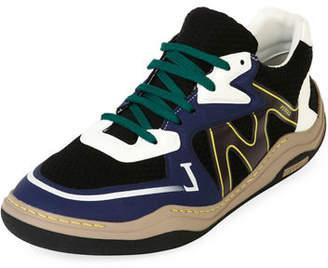 Lanvin Men's Diving Mesh Running Sneakers