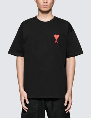 Ami Big Logo Crewneck T-Shirt