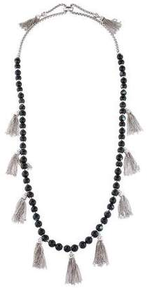 Kendra Scott Mother of Pearl Tassel Necklace