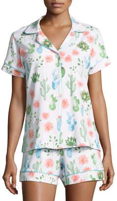 BedHead Marfa-Print Shorty Pajama Set