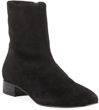 Rag & Bone Aslen Flat Suede Booties