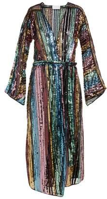 Athena Procopiou - Dancing Rainbow Sequinned Dress - Womens - Multi