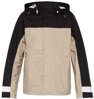 Helmut Lang Tech Zip Up Utilitarian Jacket - Mens - Black Brown