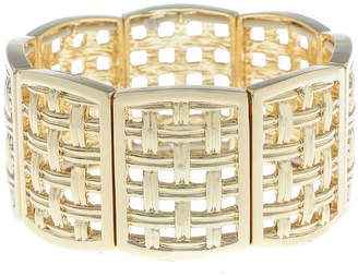 MONET JEWELRY Monet Jewelry Summer Picnic Rectangular Stretch Bracelet
