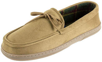 STAFFORD Men's Stafford Moccasin Slippers - Wide