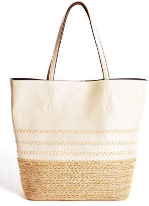 Splendid Palapa Straw Bottom Tote Bag