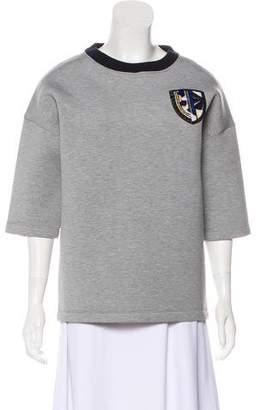 Christian Dior Embellished Scuba Sweatshirt