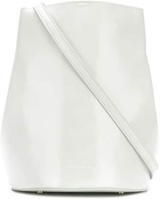 Jil Sander Navy bucket shoulder bag