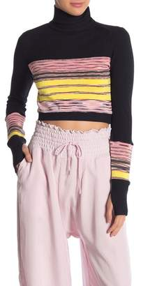Free People Mountain Mama Layering Crop Pullover
