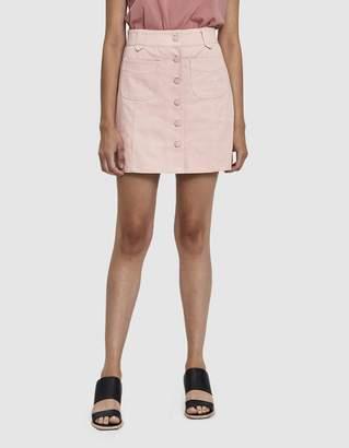 Farrow Claretha Twill Mini Skirt