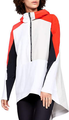 Under Armour Womens UA Woven Graphic Anorak Jacket
