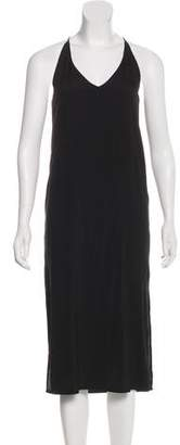6397 Silk Sleeveless Dress
