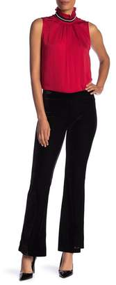 Nanette Lepore NANETTE Pull-On Velvet Wide Leg Pants