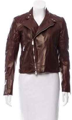 Ralph Lauren Black Label Leather Moto Jacket w/ Tags